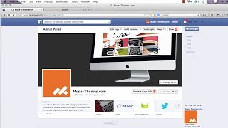 Adobe Muse Tech Tips |  Facebook Widget 2014 Tutorial by MuseThemes.com