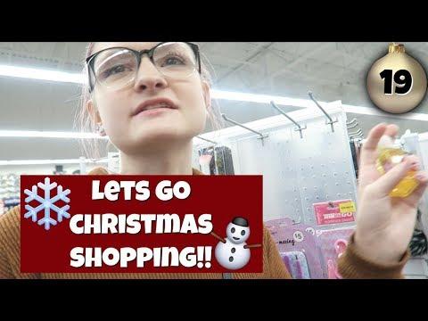 Come Christmas Shopping with Me! | Vlogmas Day 19 | 2017 |