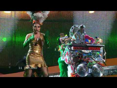 Eurovision 2008 Semi Final 1 11 Ireland *Dustin The Turkey* *Irlande Douze Pointe* 16:9 HQ