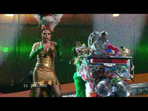 Eurovision 2008 Semi Final 1 11 Ireland *Dustin The Turkey* *Irlande Douze Pointe* 16:9 HQ