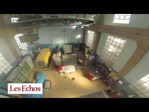 Aeronautique : en drone, au coeur de la soufflerie de l
