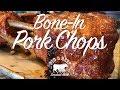 Bone-In Pork Chops -- On a Wood Pellet Grill