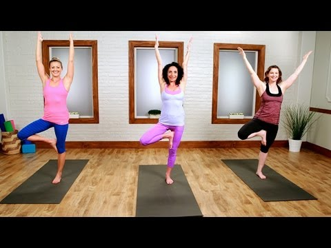 Day 21: Yoga Workout For the Ultimate Bikini Body | Class FitSugar