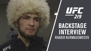 """Video UFC 219: Khabib Nurmagomedov - """"With Thirty Minutes Rest, I Could Fight One More Time"""" download MP3, 3GP, MP4, WEBM, AVI, FLV November 2018"""