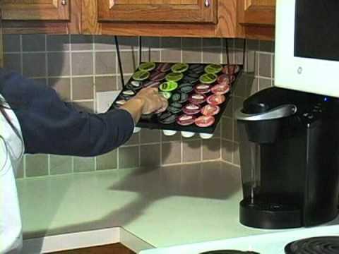 K Cup Rack   Coffee Keeper XL   K Cup Storage