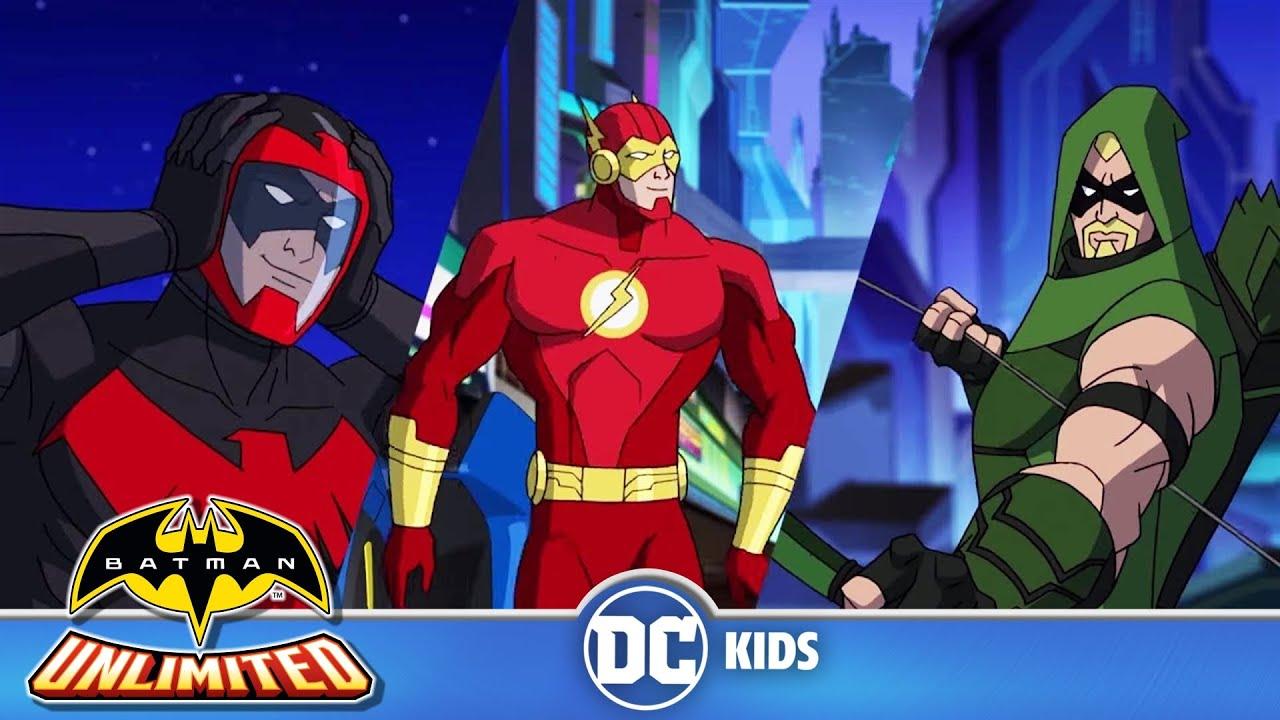 Batman Unlimited Po Polsku   Testowanie Batmobilu   DC Kids
