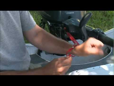 Water Safety with Kill Lanyards - Yamaha Outboards