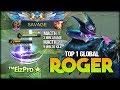 3 Minutes SAVAGE, 9 Minutes 20 Kill. ™EizPro★ Top 1 Global Roger - Mobile Legends