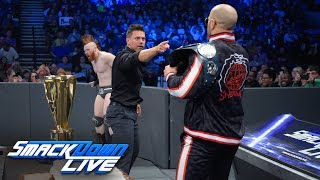 The Bar crashes Shane McMahon's Best Birthday Bash in The World: SmackDown LIVE, Jan. 14, 2019