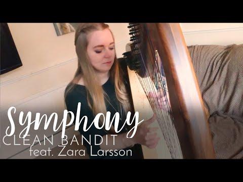 Symphony - Clean Bandit feat. Zara Larsson (Harp Cover)