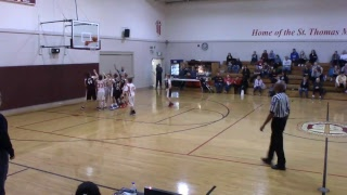 SMS 6th Grade Boys Basketball vs St Thomas More