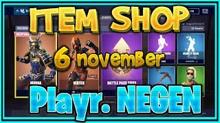 Fortnite ITEM SHOP from November 6th (all skins, all gliders, all emotes and all axes) – Playr NINE