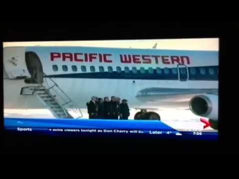 The last PWA  Airline takes off
