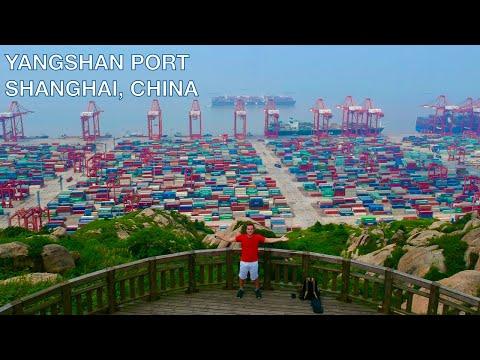 Le plus GRAND PORT en eau profonde du monde - Yangshan Deepw