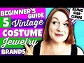 Beginner's Guide to 5 Vintage Costume Jewelry Marks You Can Find to Resell for Profit