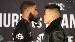 Stephen Fulton and Arnold Khegai FACE OFF IN BROOKLYN l Garcia vs Redkach l Showtime Boxing