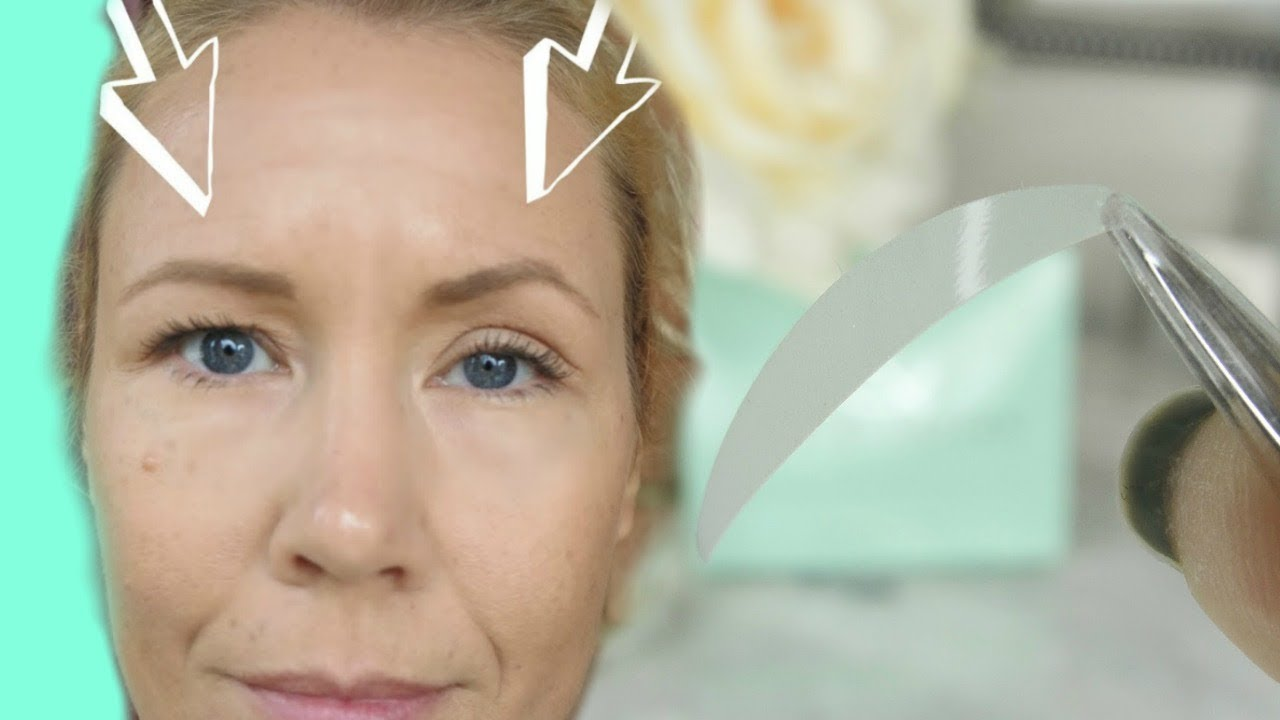 Eyelid tape for hooded eyes- does this really work? | BEAUTY OVER 40
