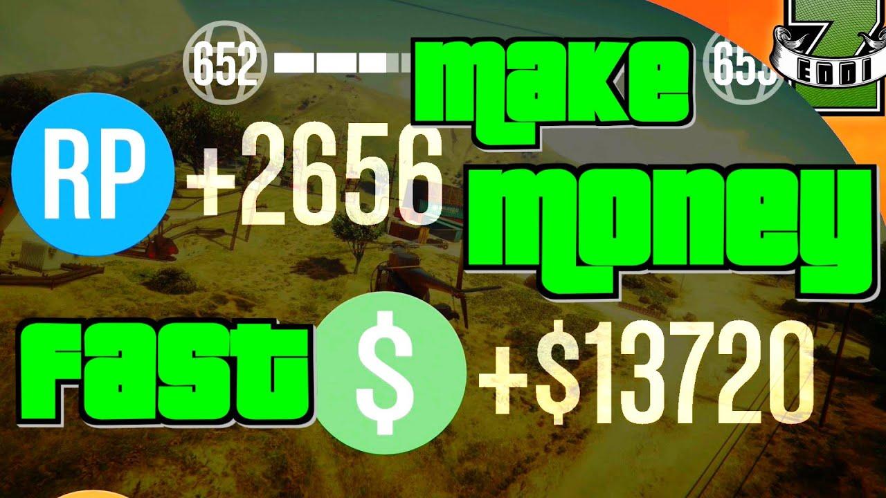 Schnell Geld Machen Gta 5