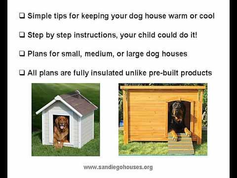 how to build a weatherproof dog house