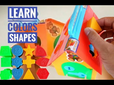 Best Learning Video for Kids Learn Colors and Shape with this Toy House | ERIL kid TV