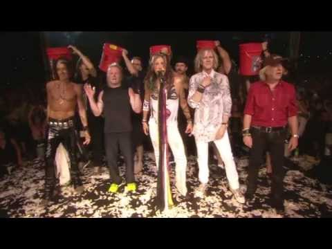 Aerosmith ALS Ice Bucket Challenge