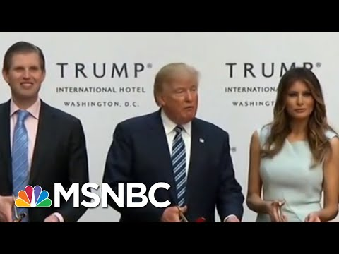 President Donald Trump Intervened In Plan For FBI HQ Near His Hotel: IG Report | All In | MSNBC