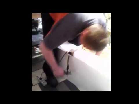 Jak Zrobic Szybka Scianke Ze Styropianu Fale Youtube