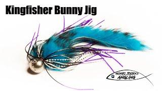 Kingfisher Bunny Jig - Hair- And Fur Strip Jig Tying Tutorial