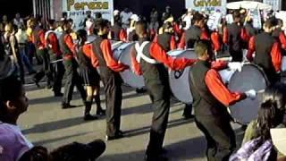 Banda Show Valles de Aragua -Desfile de Ferias Santa Rita 2009.