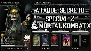 Mortal Kombat X Android Level Up / Subiendo de Nivel Jade Dia de los Muertos