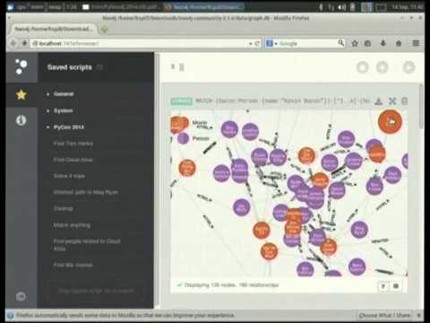 Holger Spill: An introduction to Python and graph databases with Neo4j