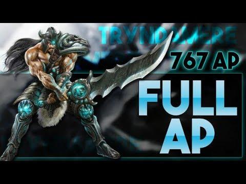 Full AP Tryndamere 762AP - LoL/Ger