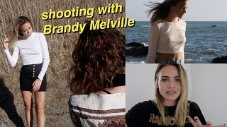 Shooting with Brandy Melville & Going to a Movie Premiere!