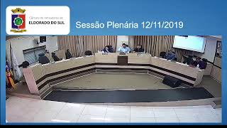 Sessão Plenária  12/11/2019