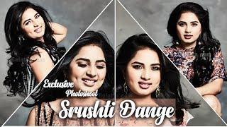 Watch the beautiful Srushti Dange Pose for Galatta's Shutterbugs