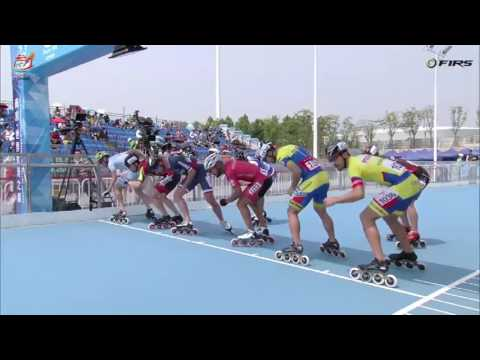 Senior Men 1000 meters Time Trial Semifinals - World Roller Speed Skating Championships 2016