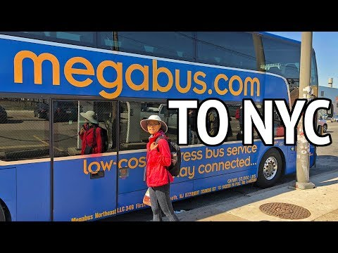 Traveling by Bus to New York City - Megabus Review