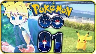Pokémon GO Part 1 ENDLICH im REAL LIFE Pokémon FANGEN