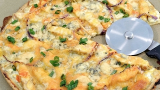 Buffalo Chicken Pizza Recipe  RadaCutlery.com