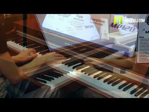 Nagrania dla muzykuj.com – Kurzweil MP 120  – musikmesse 2017 gra: Kamil Barański www.muzykuj.com
