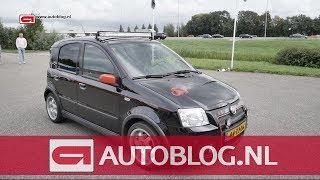 Mijn auto: Fiat Panda 100HP van Thom