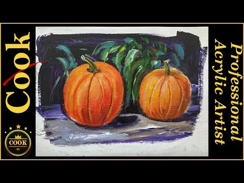 How To Paint Pumpkins YouTube - How to paint a pumpkin