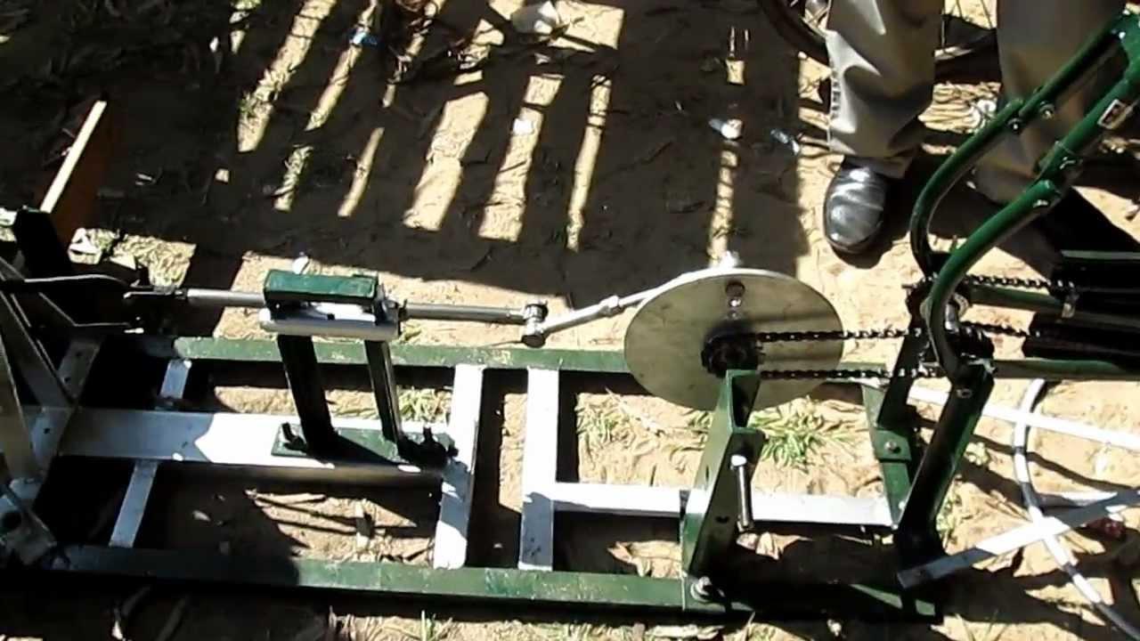 Fabrication Of Pedal Powered Dual Chain Hacksaw Machine