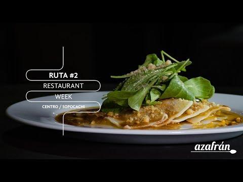 Ruta #2 - Restaurante Week Bolivia