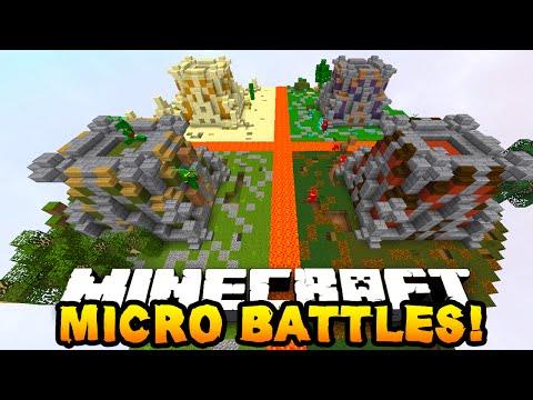 "Minecraft MICRO BATTLES! ""EPIC SKY BASE!"" #19"