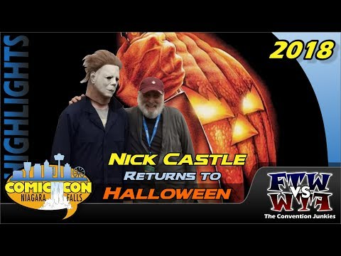 Nick Castle Returns to Halloween in 2018 - Niagara Falls Comic Con 2018