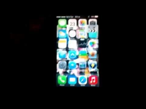 Lenovo a369i install iOS 7 ( ROW s111 )