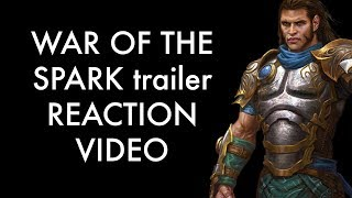 WAR OF THE SPARK trailer REACTION VIDEO