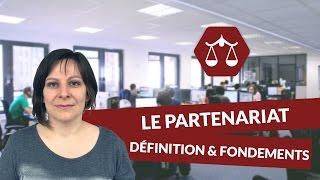 Le partenariat : définition et fondements - Droit - digiSchool