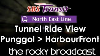 North East Line South-Bound (Punggol to HarbourFront)